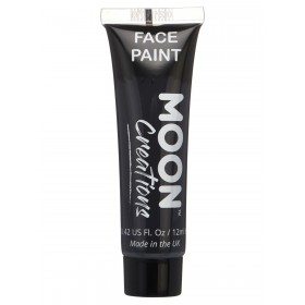 Moon Creations Face & Body Paint Black
