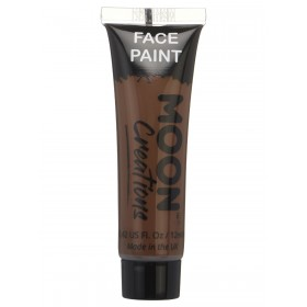 Moon Creations Fcae & Body Paint Brown