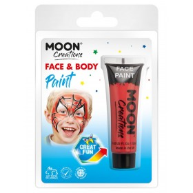Moon Creations Face & Body Paint Red