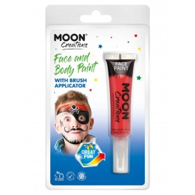 Moon Creations Face & Body Paints Red