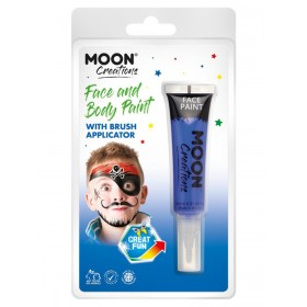 Moon Creations Face & Body Paints Dark Blue