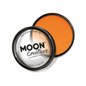 Moon Creations Pro Face Paint Cake Pot Orange
