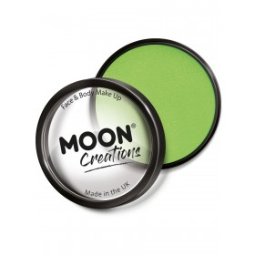 Moon Creations Pro Face Paint Cake Pot Pastel Green