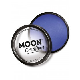 Moon Creations Pro Face Paint Cake Pot Royal Blue