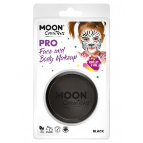 Moon Creations Pro Face Paint Cake Pot Black