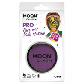 Moon Creations Pro Face Paint Cake Pot Purple