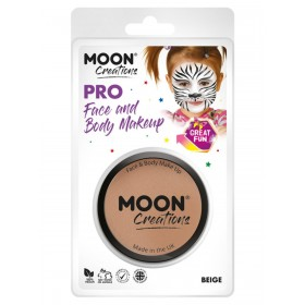 Moon Creations Pro Face Paint Cake Pot Beige