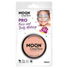 Moon Creations Pro Face Paint Cake Pot Peach