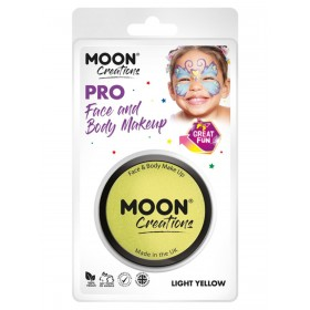 Moon Creations Pro Face Paint Cake Pot Yellow
