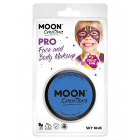 Moon Creations Pro Face Paint Cake Pot Sky Blue