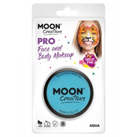 Moon Creations Pro Face Paint Cake Pot Aqua
