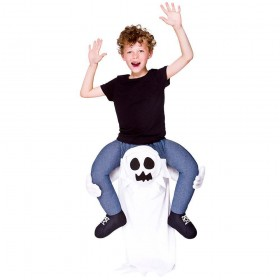 Carry Me® - Ghost Child Fancy Dress Costume (Halloween)