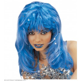 Stardust Wig Blue - Fancy Dress