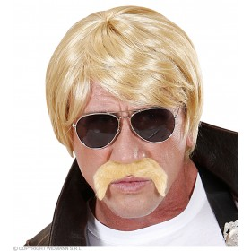 Mens Undercover Agent Wig - Blonde Wigs - (Blond)