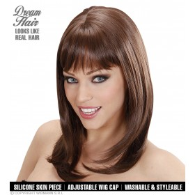 Ladies Ashley Wigs - Brown (Dream Hair) Wigs - (Brown)