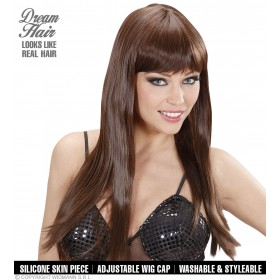 Ladies Cherie Wigs - Brown (Dream Hair) Wigs - (Brown)