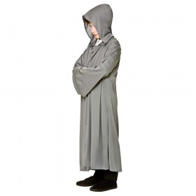 Kids Hooded Robe - Grey Accessories