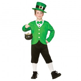 Funny Leprechaun Fancy Dress Costume (St Patricks)