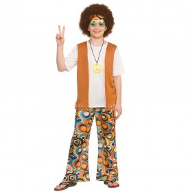 Cool Hippie Fancy Dress Costume