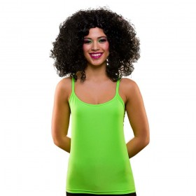 80's Neon Vest Top - Green M/L Accessories (1980)