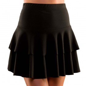 80's Ra Ra Skirt - Black M/L Costume (1980)
