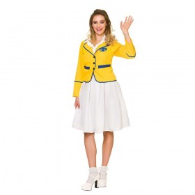 Holiday Camp Girl Fancy Dress Costume