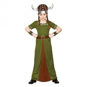 Viking Princess Fancy Dress Costume