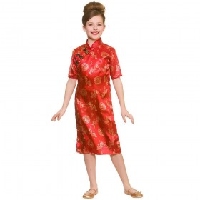 Traditional Chinese Girl Fancy Dress Costume