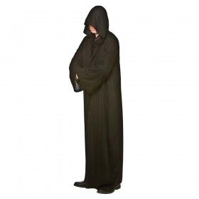 Hooded Robe - BLACK Accessories