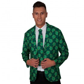 Irish Jacket & Tie Fancy Dress Costume (St Patricks)