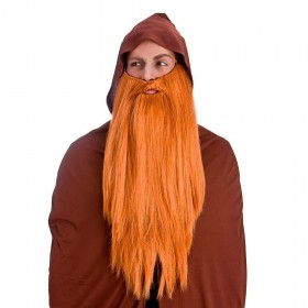Deluxe Long Beard - Ginger Wigs