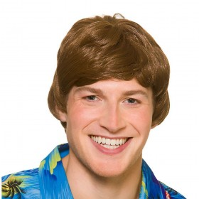 Hawaii Beach Boy Wig (Hawaiian)