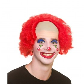 Funny Clown Wig Accessory
