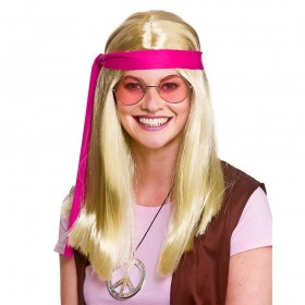 Woodstock Hippie Kit - Blonde Wigs