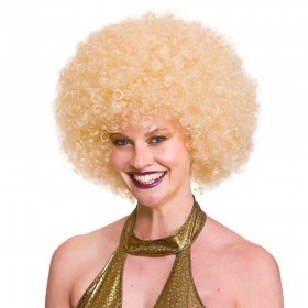 Giant Afro Wig - Blonde Wigs