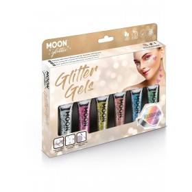 Moon Glitter Holographic Fine Glitter Gel Assorted