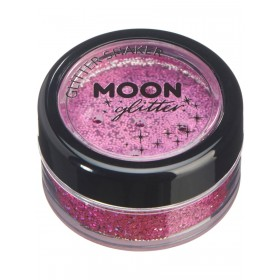 Moon Glitter Holographic Glitter Shakers Pink