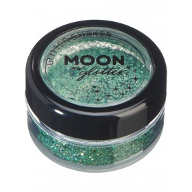 Moon Glitter Holographic Glitter Shakers Green
