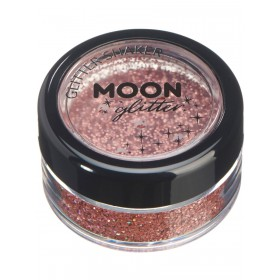 Moon Glitter Holographic Glitter Shakers Rose Gold