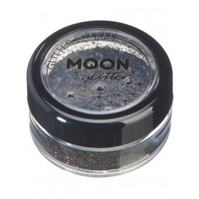 Moon Glitter Holographic Glitter Shakers Black