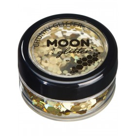 Moon Glitter Holographic Chunky Glitter Gold