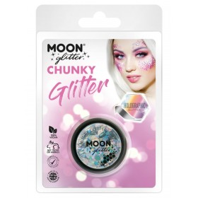 Moon Glitter Holographic Chunky Glitter Silver