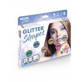 Moon Glitter Holographic Glitter Shapes Assorted