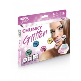 Moon Glitter Iridescent Chunky Glitter Assorted