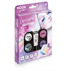 Moon Glitter Unicorn Glitter Kit Assorted