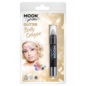 Moon Glitter Holographic Body Crayons Silver