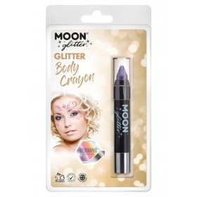 Moon Glitter Holographic Body Crayons Purple