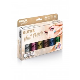 Moon Glitter Holographic Nail Polish Assorted