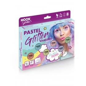 Moon Glitter Pastel Glitter Shakers Assorted