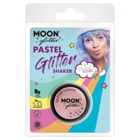 Moon Glitter Pastel Glitter Shakers Baby Pink